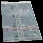 Komposterbar folie til indpakning af tidsskrifter
