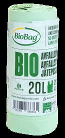BioBag Biopose 20 L - Biologisk nedbrytbar og komposterbar186836