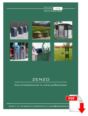 Zenzo Miljæ brochure image