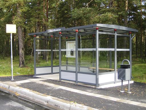 Big City busskur - En større variant av City-modellen.