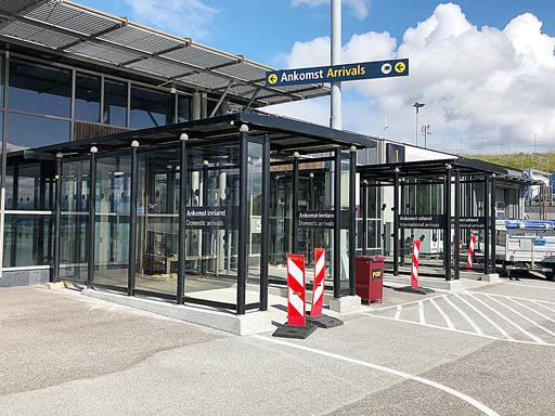 Big City 4 - på 11,5 m2 står utenfor utgangene til Molde lufthavn.