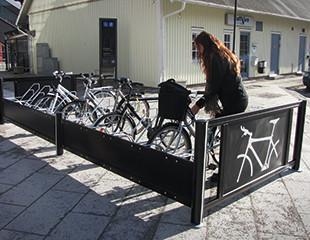 Velopark sykkelstativ