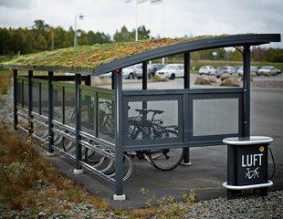 ZENZO MILJØ-Ymer sykkelskur med sedum tak- kategoribilde