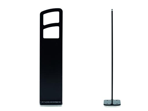 Delta Rammelås / sykkelbue, sort - høyde 850 mm