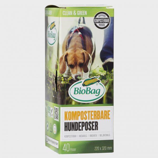 Bio hundeposer på rull