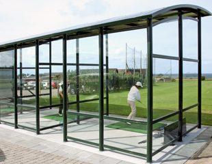 Zenzo Miljø - Golfbaneprodukter - Overbygd driving range -kategoribilde
