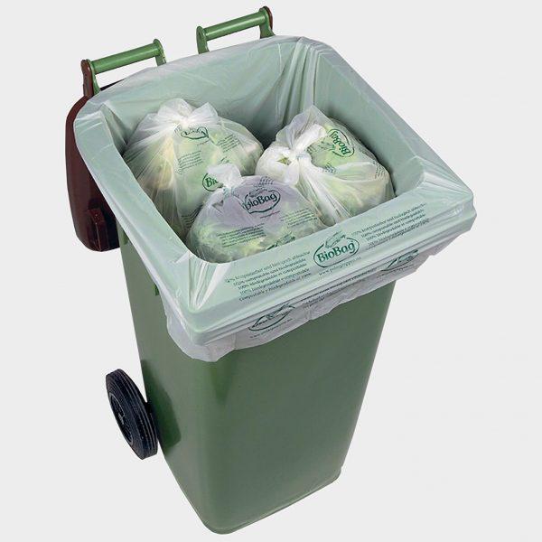 BioBag 140 liter affaldssæk til container