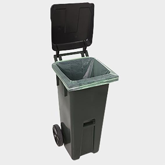 BioBag avfallssekk til 140 liter avfallsbeholder