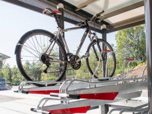 Zenzo Miljø- 2ParkUp sykkelstativ-sykkelparkering i to etasjer