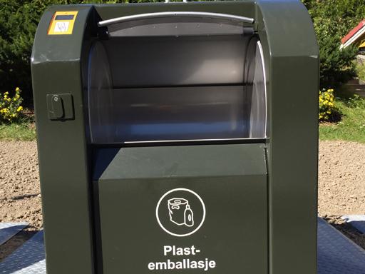 Innkast for plastavfall
