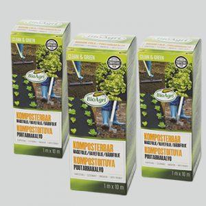 BioAgri Biohajoava puutarhakate monipakkaus