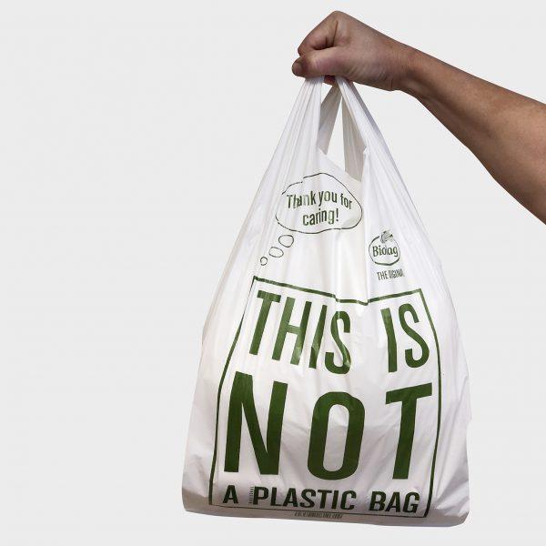 BioBag - Ympäristöystävällinen Kantokassi