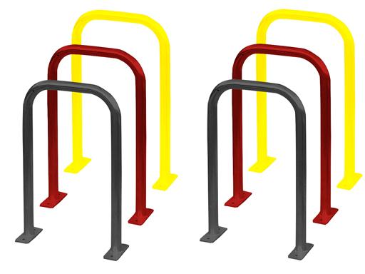 Arcum sykkelstativ kan også fås lakkert i valgfri RAL farge mot et tillegg