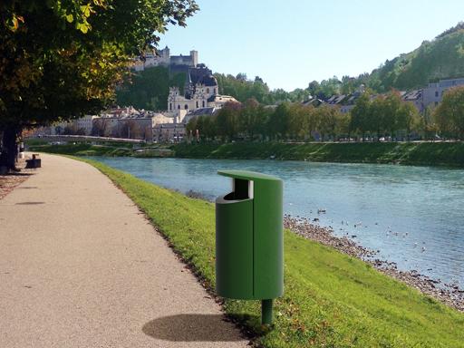 Novus er en serie avfallsbeholdere i høy kvalitet.