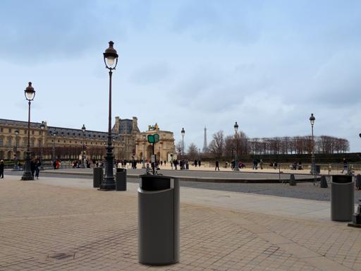 Novus er gode løsninger for parker, gater og forretningsområder.