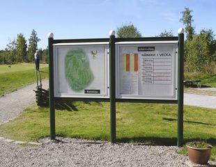 Zenzo Miljø - Golfbaneprodukter - Informasjonstavler - kategori
