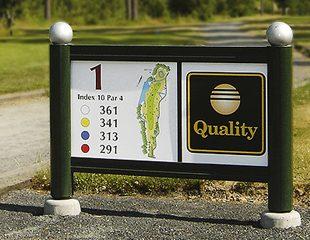 Zenzo Miljø - Golfbaneprodukter - tee-skilter - kategori