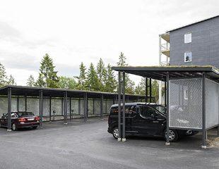 Zenzo Miljø - leskur - Carport - Atone bilparkering - kategoribilde