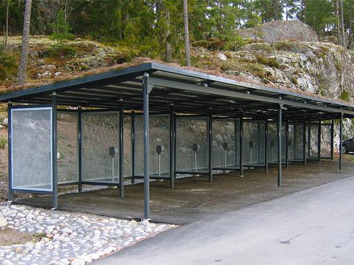 Zenzo Miljø - leskur - Carport - Autone strekkmetall.
