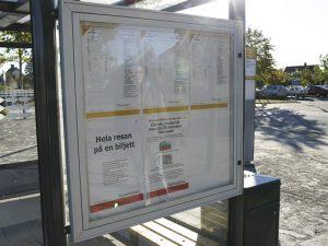 ZENZO MILJØ - leskur - tillvalg - informasjonstavle