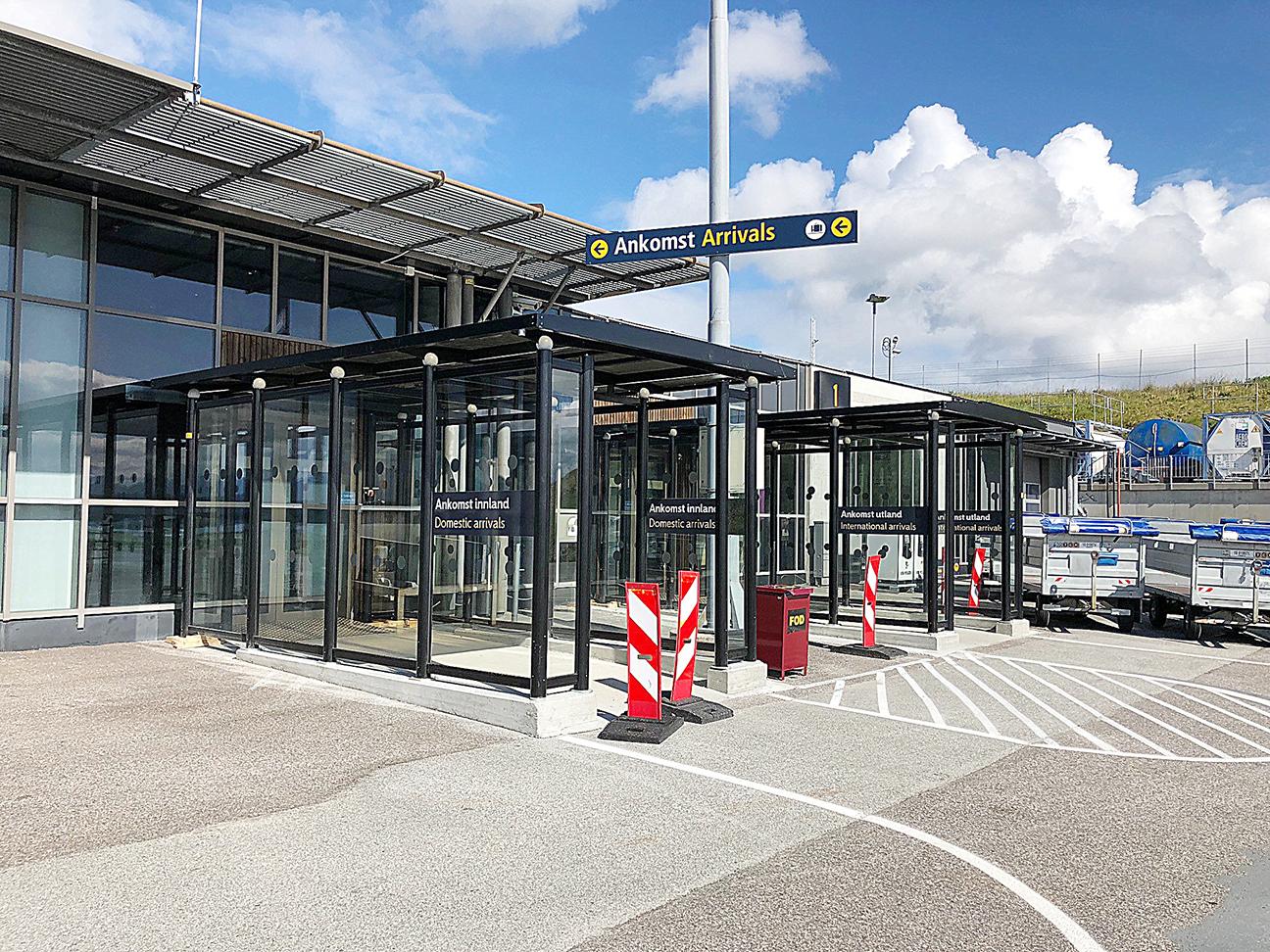 Zenzo Miljø - Leskur - Avinor Molde lufthavn - Terminalskur