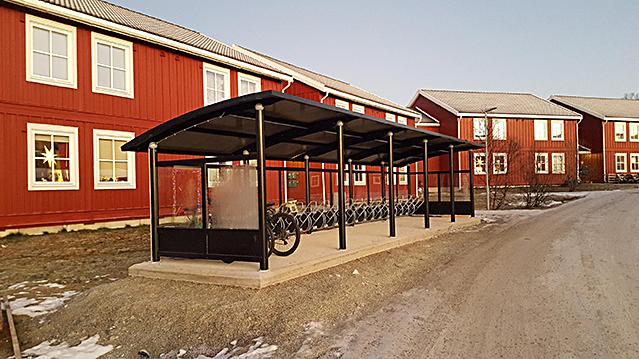 Zenzo Miljø - Sykkelparkering - Sykkelskur - Tromsø