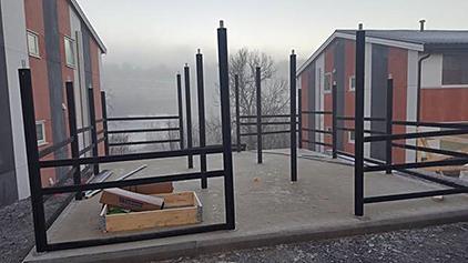 Zenzo Miljø - Sykkelparkering - Sykkelskur - Ymer Trio 3 - byggeprosjekt