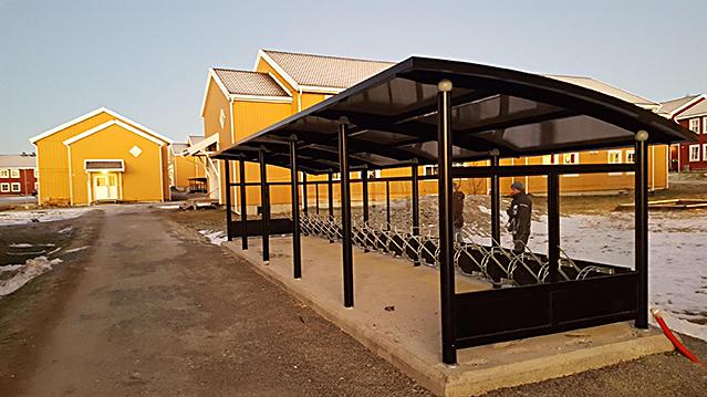 Zenzo Miljø - Sykkelparkering - Sykkelskur