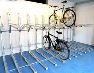 Zenzo Miljø - Sykkelparkering - to etasjers sykkelparkering TH - Kategoribilde