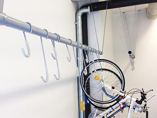 Bevegelige sykkelkroker NE5.