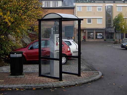 Parkometerskur - P-automat
