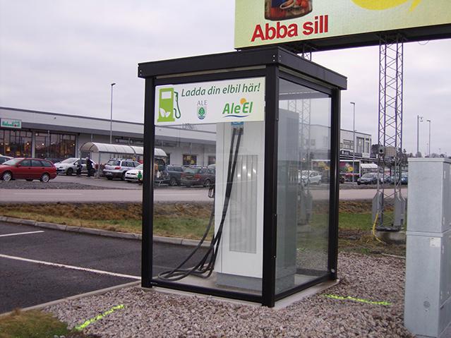 Zenzo Miljø - nyheter 2019 - Optime Automatskur - leskur til ladestasjon- elbil