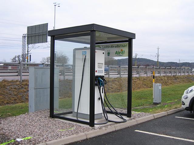 Zenzo Miljø - nyheter 2019 - Optime Automatskur - leskur til ladestasjon