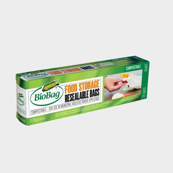 BioBag matpakkepose med lynlås - embalasje kopi