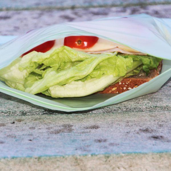 Biobag - matpakkepose i bio - Lynlås -komposterbar
