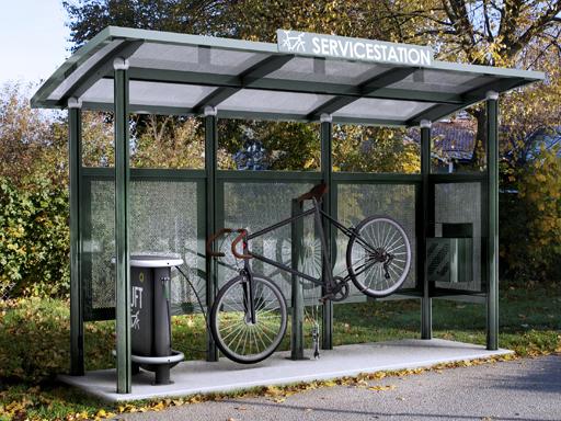 Servicestasjon MG3 for sykkel - her kan du utføre enkle reparasjoner